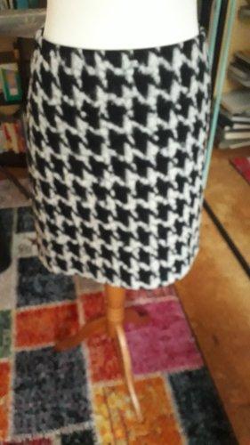 Strenesse Blue Falda de lana blanco-negro