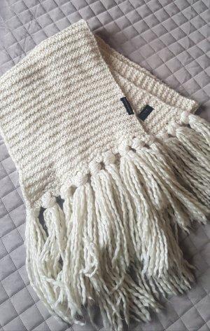Emporio Armani Wollen sjaal wolwit-room
