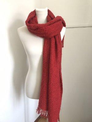 Fila Bufanda de lana rojo