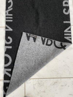 Marc Cain Sciarpa di lana nero-argento Lana