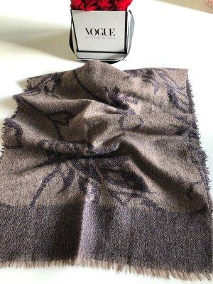 Cinque Écharpe en laine gris violet-mauve