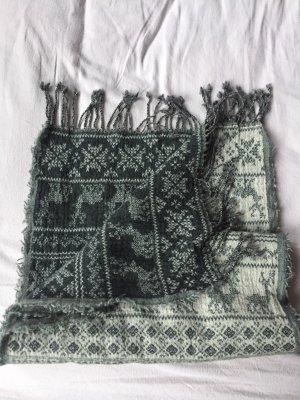 unbekannte Woolen Scarf light grey-grey