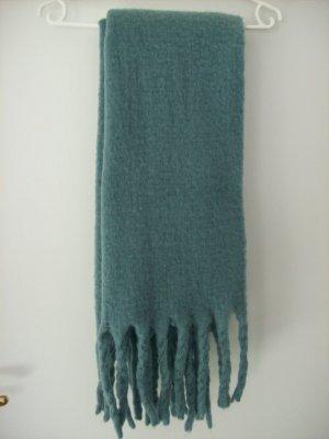 Primark Bufanda de lana azul cadete