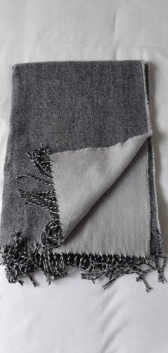 H&M Basic Szalik z frędzlami Wielokolorowy