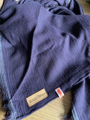 Sciarpa di lana marrone-viola