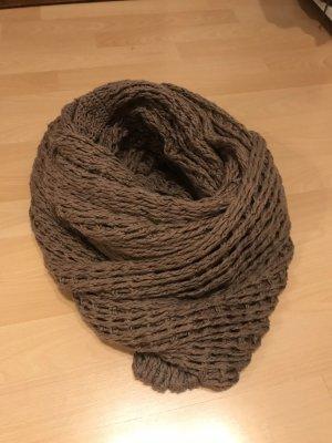 Kontatto Woolen Scarf rose-gold-coloured wool