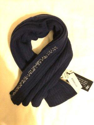 Codello Sjaal van kasjmier donkerblauw
