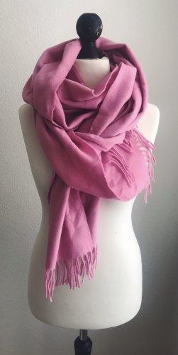 Woolen Scarf pink-neon pink