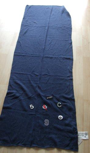Codello Wollen sjaal blauw