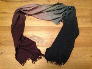 Mango Wollen sjaal veelkleurig