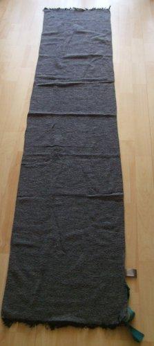 Codello Écharpe en laine gris foncé-gris ardoise