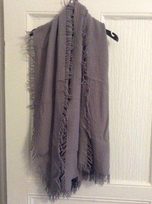 COS Sciarpa di lana grigio chiaro