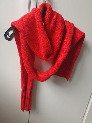 Miss Sixty Wollen sjaal donkerrood