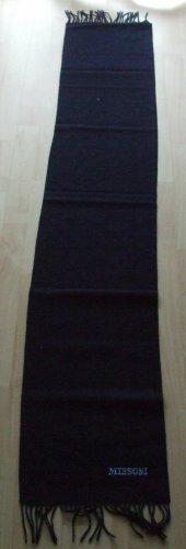 Missoni Sciarpa di lana blu scuro