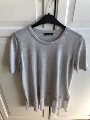 Joseph Janard T-shirts en mailles tricotées gris clair laine