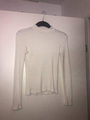 Wollshirt Weiß