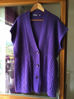 Rabe Short Sleeve Knitted Jacket lilac