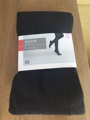 C&A Pantalon en laine noir
