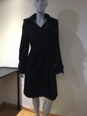 Esprit Wool Coat black wool