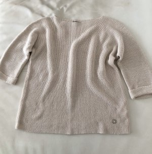 Wollweiss Pullover Grobstrick