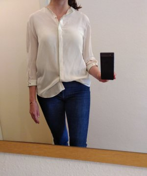 & other stories Blouse natural white-lime-green