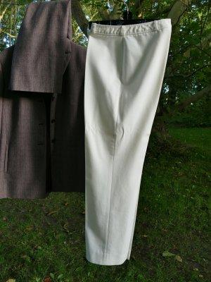 Fordan Spodnie Marlena w kolorze białej wełny Poliester