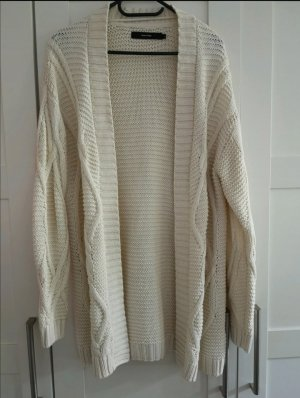 Vero Moda Coarse Knitted Jacket natural white