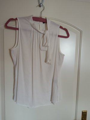 Zero Tie-neck Blouse natural white