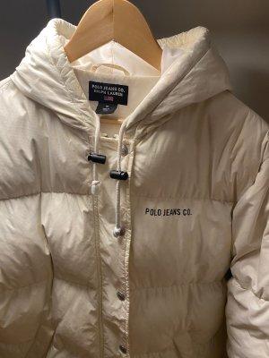 Polo Ralph Lauren Płaszcz puchowy w kolorze białej wełny Poliester