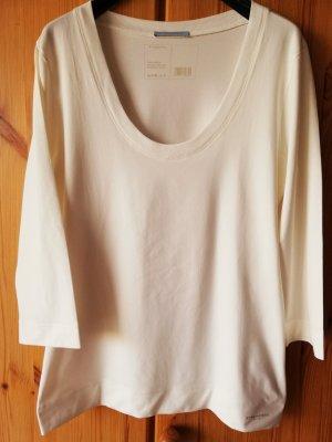 wollweißes 3/4 Arm Stretch-Shirt von Strenesse Blue