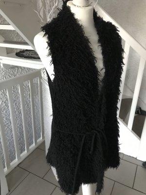Betty Barclay Gilet long tricoté noir