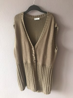 Ulla Popken Knitted Vest brown