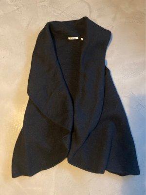 Rich & Royal Gilet long tricoté noir
