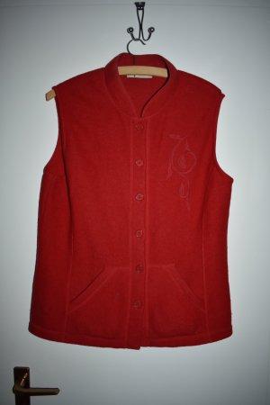 Erica Rössler Fleece vest veelkleurig Wol