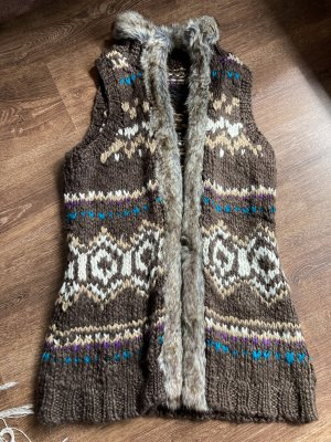 s. Oliver (QS designed) Long Knitted Vest multicolored