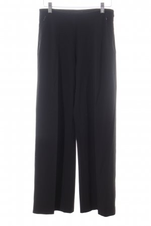 WOMAN Bundfaltenhose schwarz Business-Look