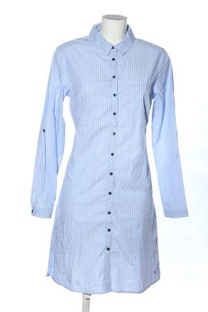 Woman by Tchibo Blusenkleid blau-weiß Allover-Druck Casual-Look