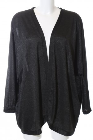 Woman by Tchibo Cardigan schwarz meliert Casual-Look