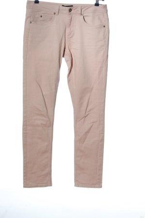 Woman by Tchibo Pantalon cinq poches rose style décontracté