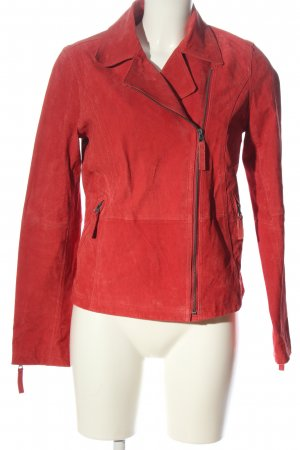 Woman by Tchibo Leather Jacket red casual look