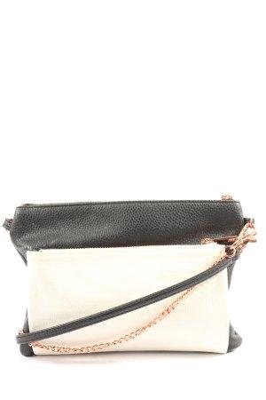 Woman by Tchibo Mini sac blanc-noir style décontracté