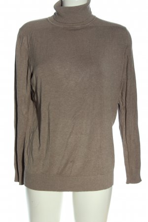 Woman by Tchibo Turtleneck Sweater brown casual look