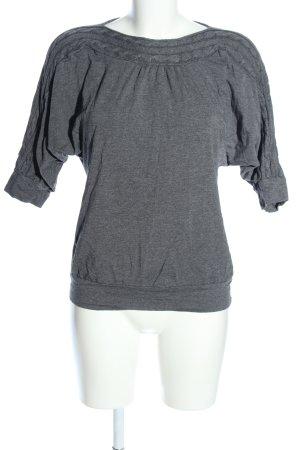 Woman by Tchibo Jersey de cuello redondo gris claro punto trenzado look casual