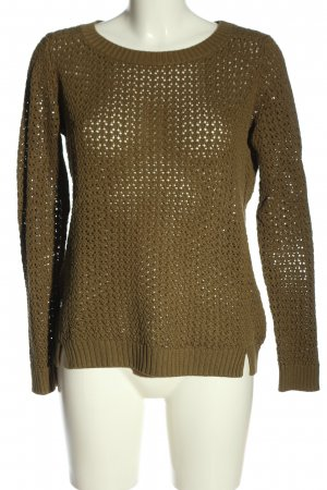 Woman by Tchibo Rundhalspullover khaki Casual-Look