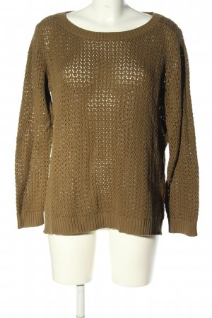 Woman by Tchibo Rundhalspullover braun Casual-Look