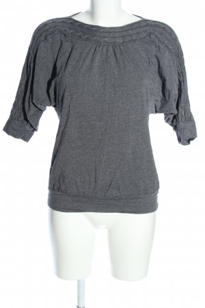 Woman by Tchibo Jersey de cuello redondo gris claro moteado look casual