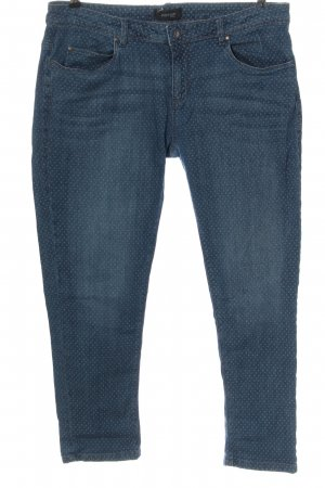 Woman by Tchibo Slim Jeans blue spot pattern casual look