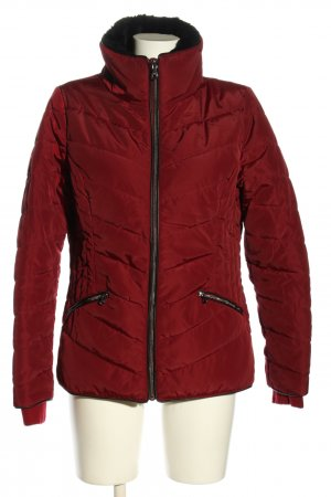 Woman by Tchibo Steppjacke rot Steppmuster Casual-Look