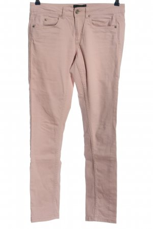 Woman by Tchibo Straight-Leg Jeans pink Casual-Look