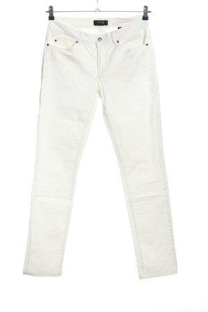 Woman by Tchibo Jeansy z prostymi nogawkami biały W stylu casual